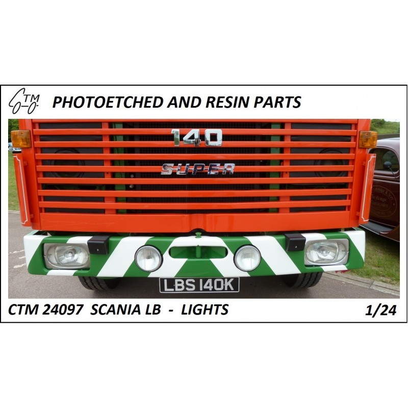 CTM 24097 Scania LB 110/140 lights