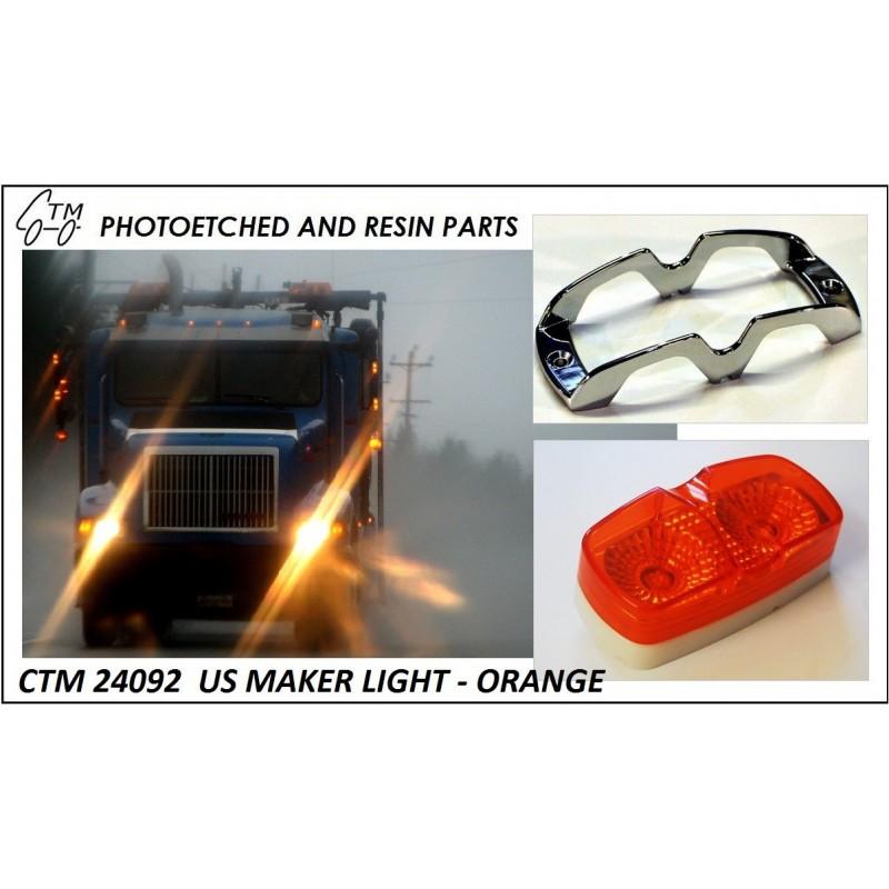 CTM 24093 US marker lights - orange