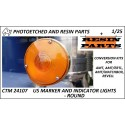 CTM 24107 US Marker lights - round