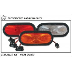 "CTM 24110  6,5"" Oval lights"