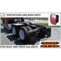 CTM 24119 Semi truck tail lights