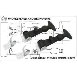 CTM 24184 Rubber hood latch