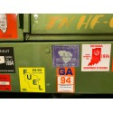 CTM 24217 Fuel permit stickers