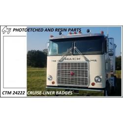 CTM 24222 Cruiseliner badges