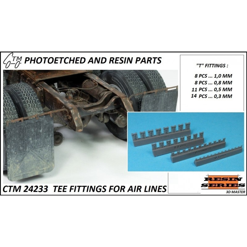 CTM 24233 TEE FITTINGS FOR AIR LINES